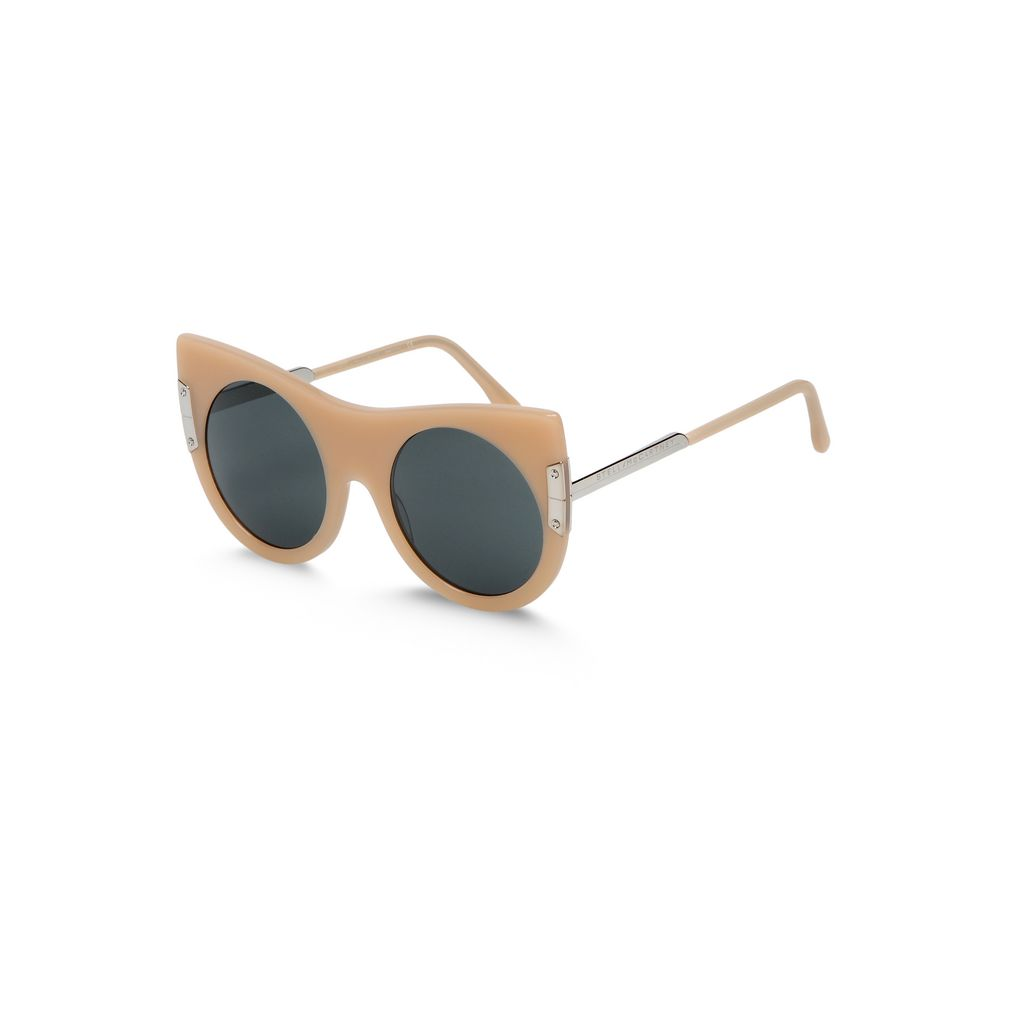 Flat Cat Eye Sunglasses  - STELLA MCCARTNEY