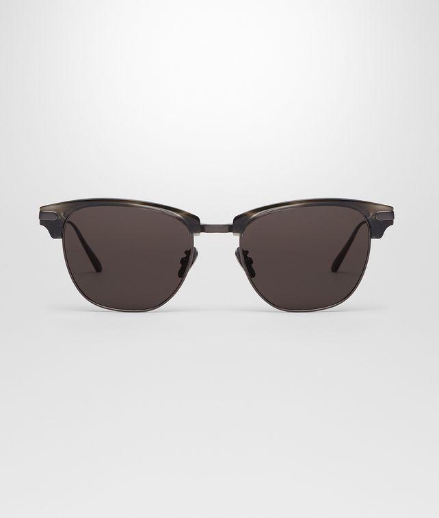 titanium eyewear 7x7p  BOTTEGA VENETA HAVANA GREY ACETATE TITANIUM EYEWEAR BV 317 F/S COMFORT FIT  Sunglasses E