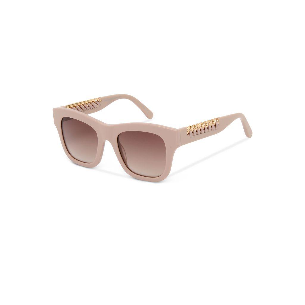 Pink Falabella Square Sunglasses  - STELLA MCCARTNEY