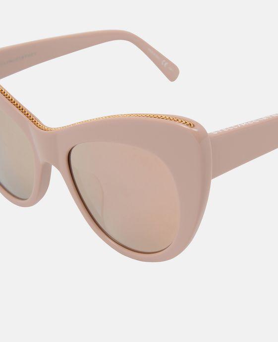 STELLA McCARTNEY Rose Oversized Cat Eye Sunglasses Eyewear D g