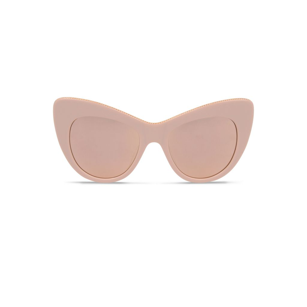 Rose Oversized Cat Eye Sunglasses  - STELLA MCCARTNEY