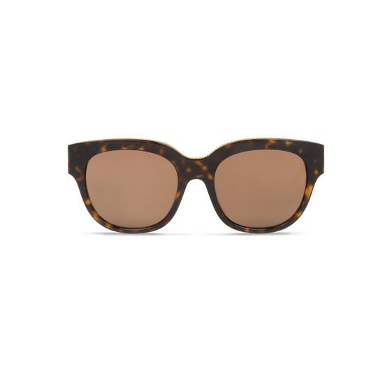 Occhiali da Sole Quadrati Oversize Avana