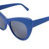 STELLA McCARTNEY Cobalt Oversized Cat Eye Sunglasses Eyewear D e