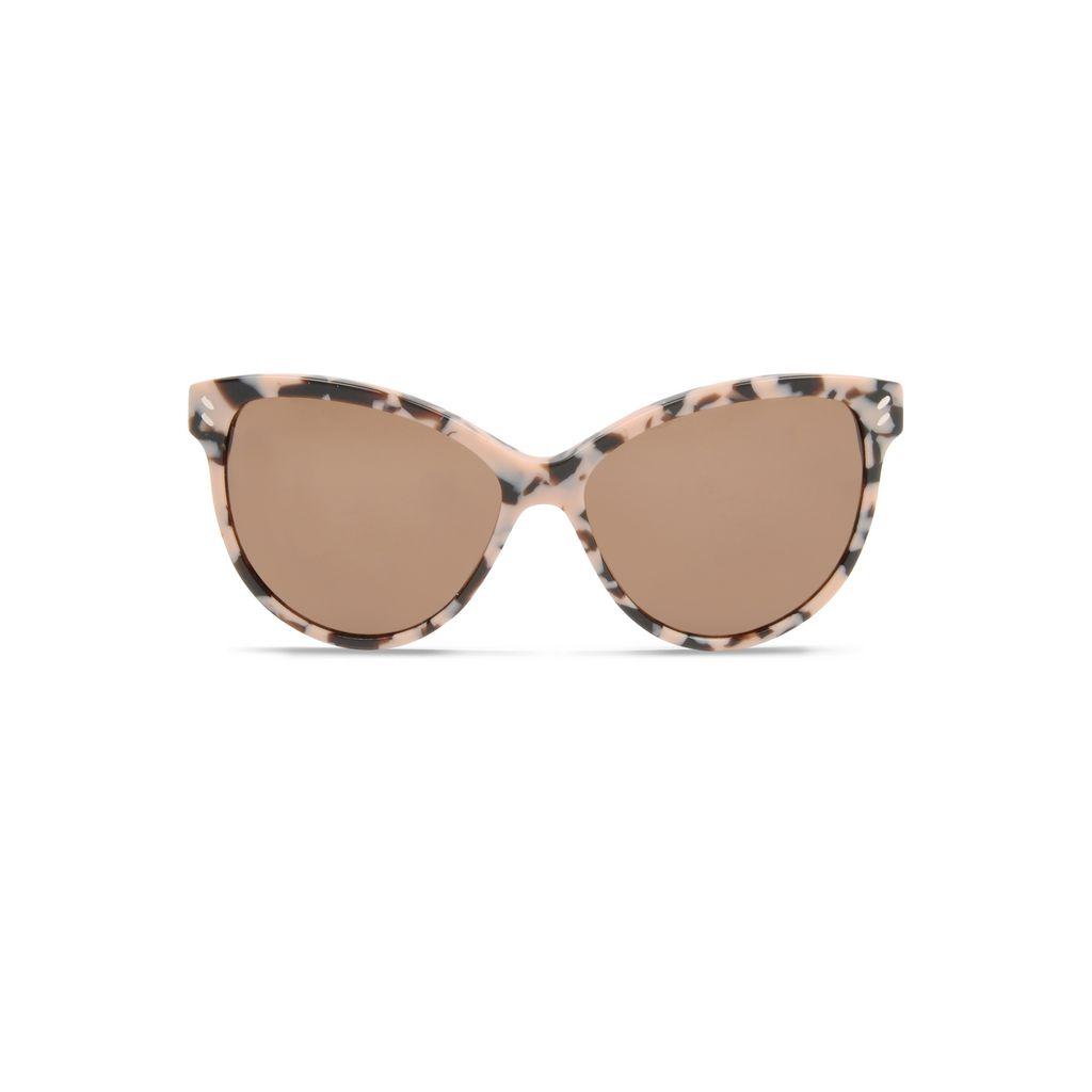 Pink Havana Cat Eye Sunglasses  - STELLA MCCARTNEY