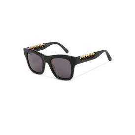 Black Falabella Square Sunglasses
