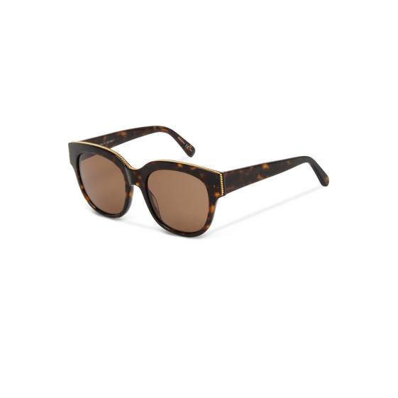 Havana Oversized Square Sunglasses