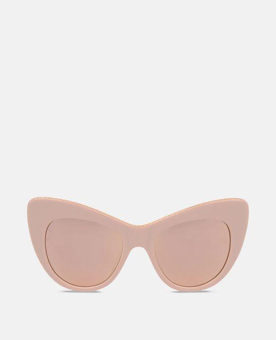 Rose Oversized Cat Eye Sunglasses