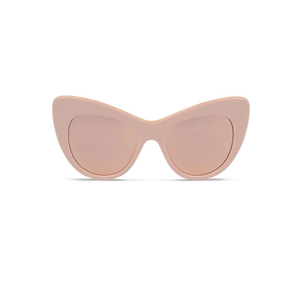 Rose Oversized Cat Eye Sunglasses  - STELLA MCCARTNEY