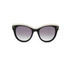 STELLA McCARTNEY Eyewear D Shiny Black Oversized Square Sunglasses f
