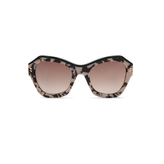 Pink Tortoise Oversized Sunglasses