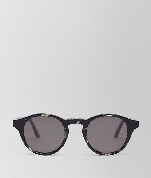 6c9456055 BOTTEGA VENETA GREY HAVANA ACETATE SUNGLASSES Sunglasses E fp