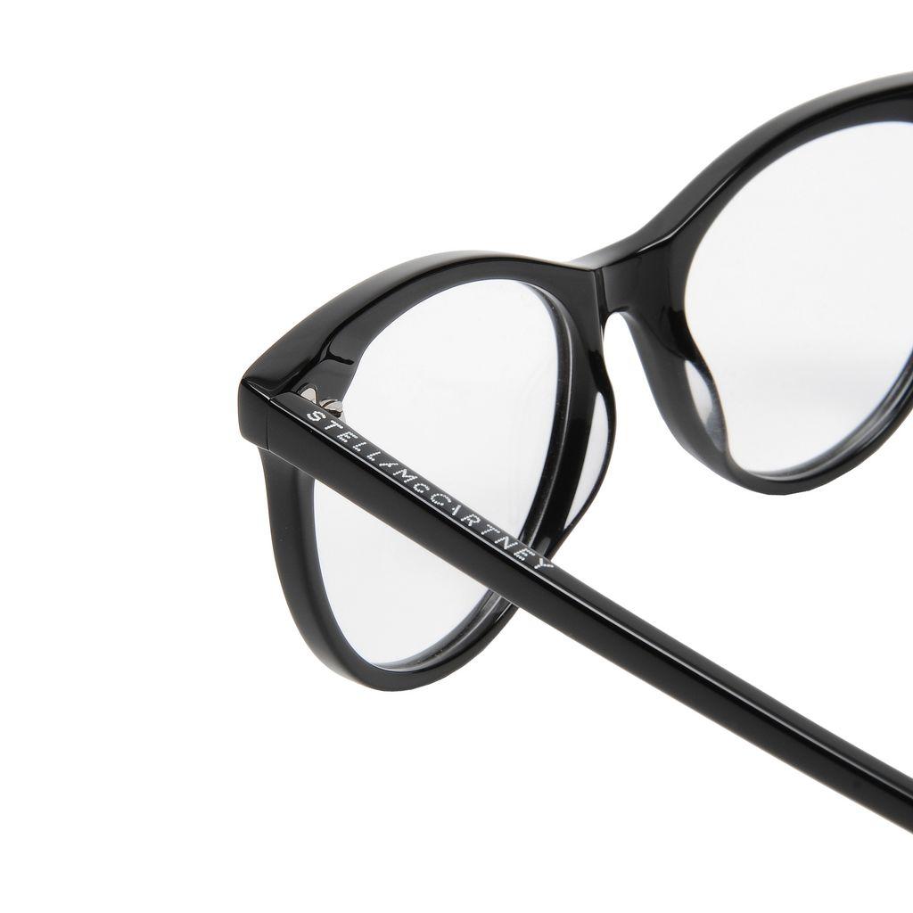 Round Cat Eye Glasses  - STELLA MCCARTNEY