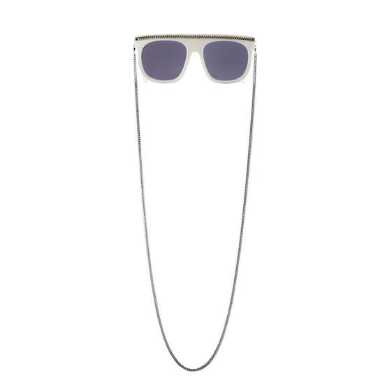 White Falabella Chain Sunglasses