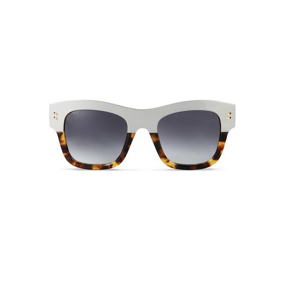 Dark Grey Square Sunglasses