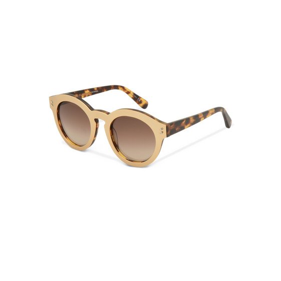 Rose Oval Sunglasses