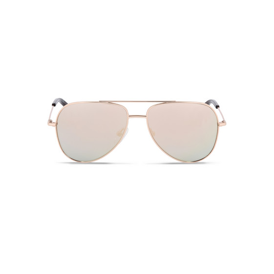 Gold Mini Aviator Sunglasses