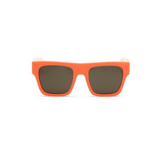 Fluo Orange Falabella Square Sunglasses
