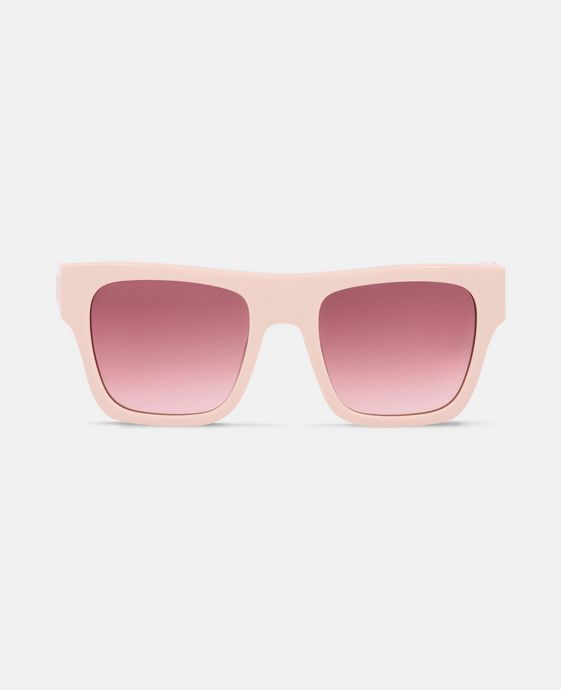Pink Mini Falabella Square Sunglasses