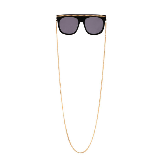 Black Falabella Chain Sunglasses