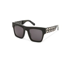 Black Falabella Bold Chain Sunglasses