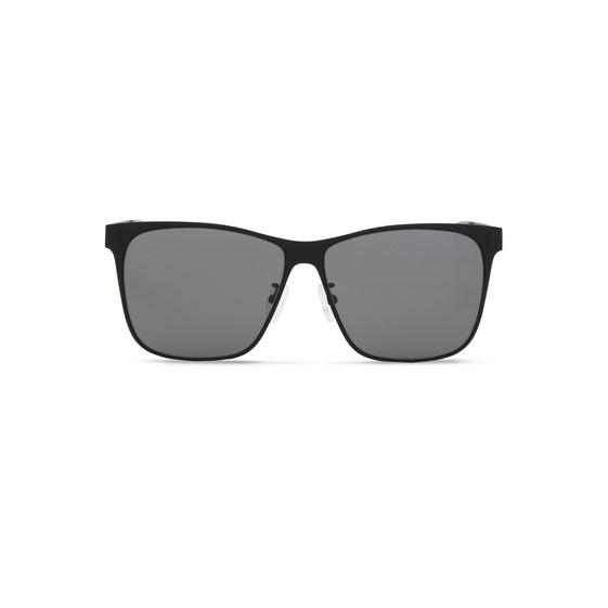 Black Square Metal Aviator Sunglasses
