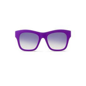 STELLA McCARTNEY Eyewear D Purple Falabella Square Sunglasses f