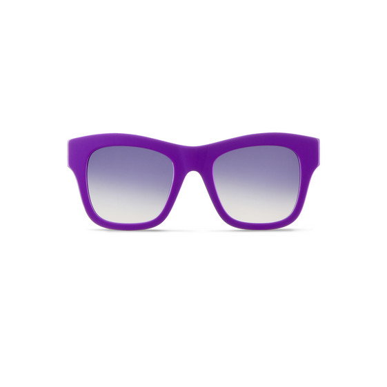 Purple Falabella Square Sunglasses
