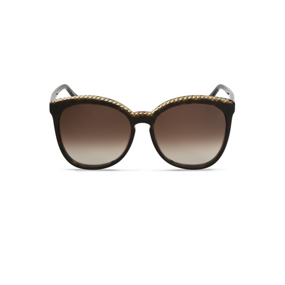 Brown Tortoise Square Sunglasses