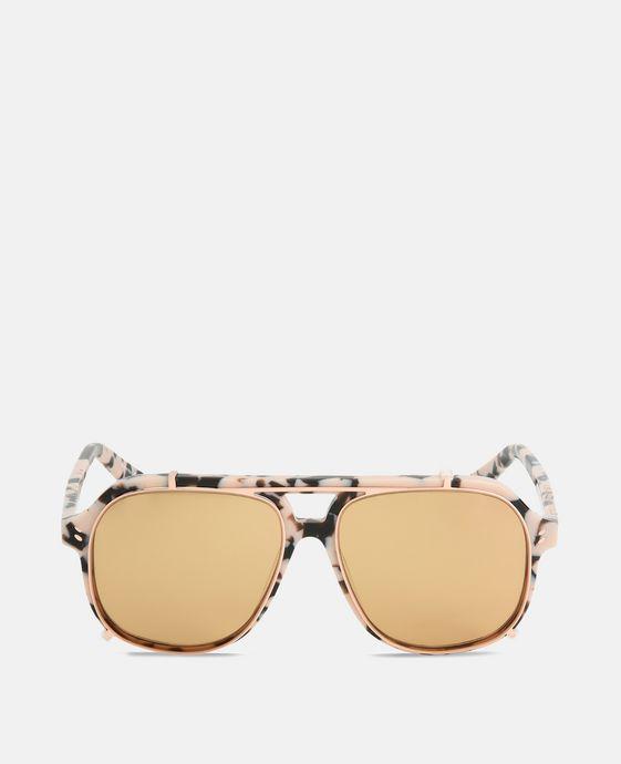 Pink Tortoise Aviator Sunglasses