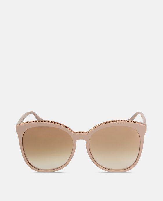 Pink Tortoise Square Sunglasses