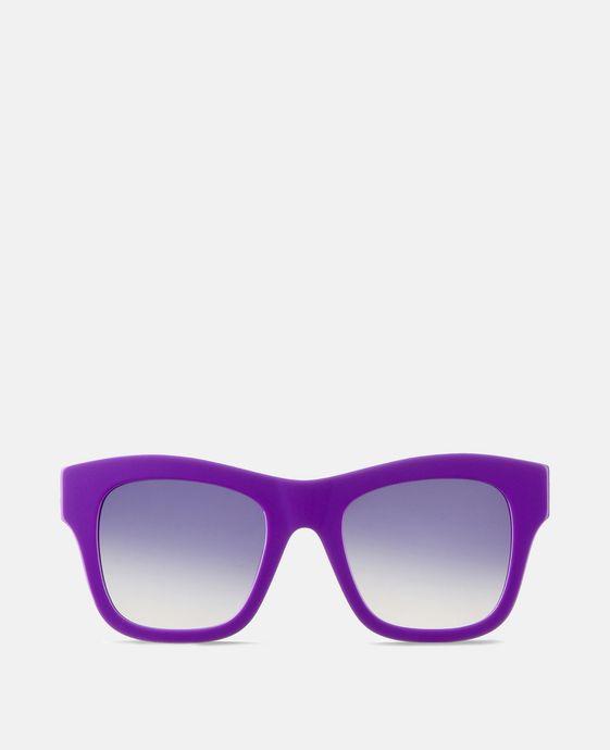 Purple Falabella Square Sunglasses
