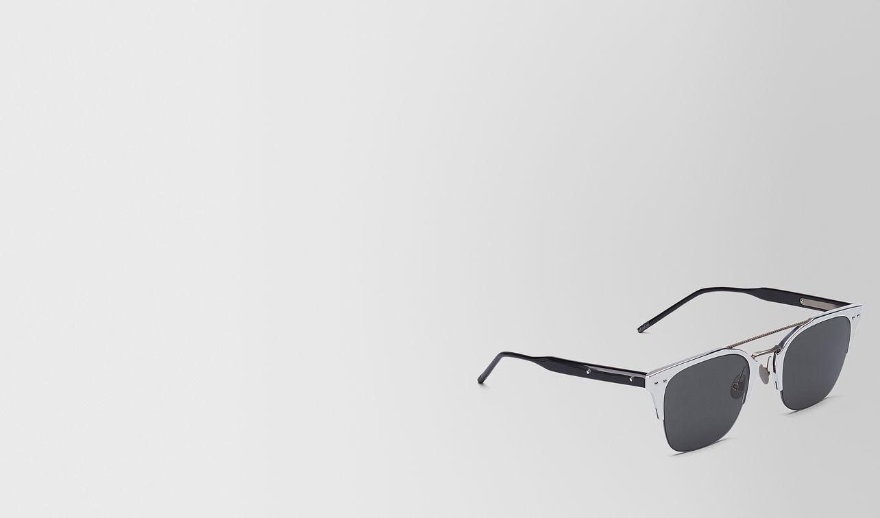 silver aluminium sunglasses landing