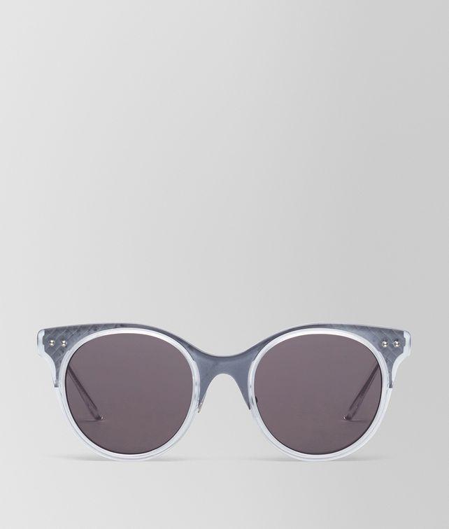 BOTTEGA VENETA OCCHIALI DA SOLE IN ACETATO TRASPARENTE Occhiali da Sole Donna fp