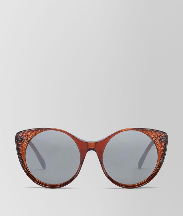 BOTTEGA VENETA OCCHIALI DA SOLE IN ACETATO MARRONE Occhiali da Sole Donna fp