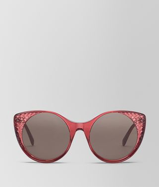 BURGUNDY ACETATE SUNGLASSES
