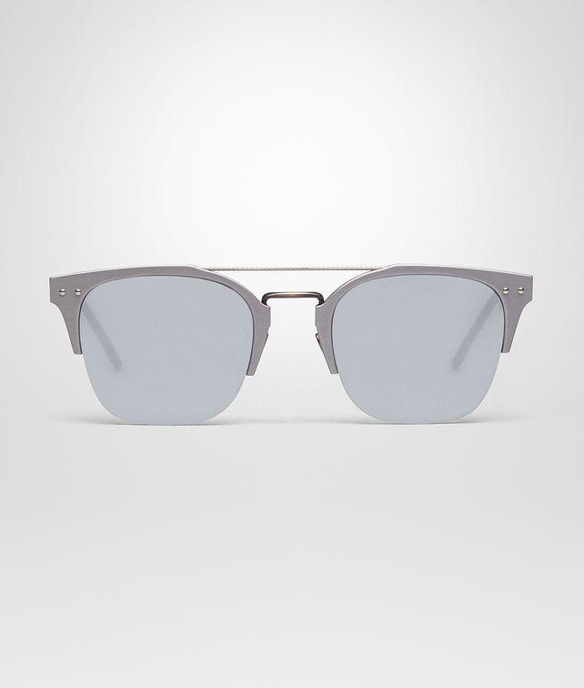 BOTTEGA VENETA GREY ALUMINIUM SUNGLASSES Sunglasses U fp