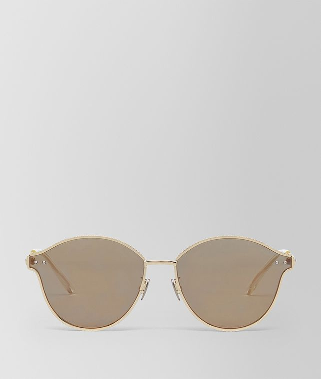 BOTTEGA VENETA ORO METAL SUNGLASSES Sunglasses E fp