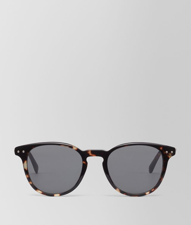 BOTTEGA VENETA DARK HAVANA ACETATE SUNGLASSES Sunglasses [*** pickupInStoreShippingNotGuaranteed_info ***] fp