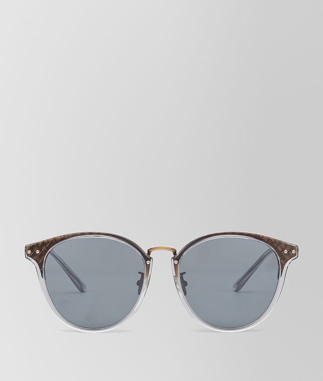 BOTTEGA VENETA BRONZE METAL SUNGLASSES Sunglasses E fp