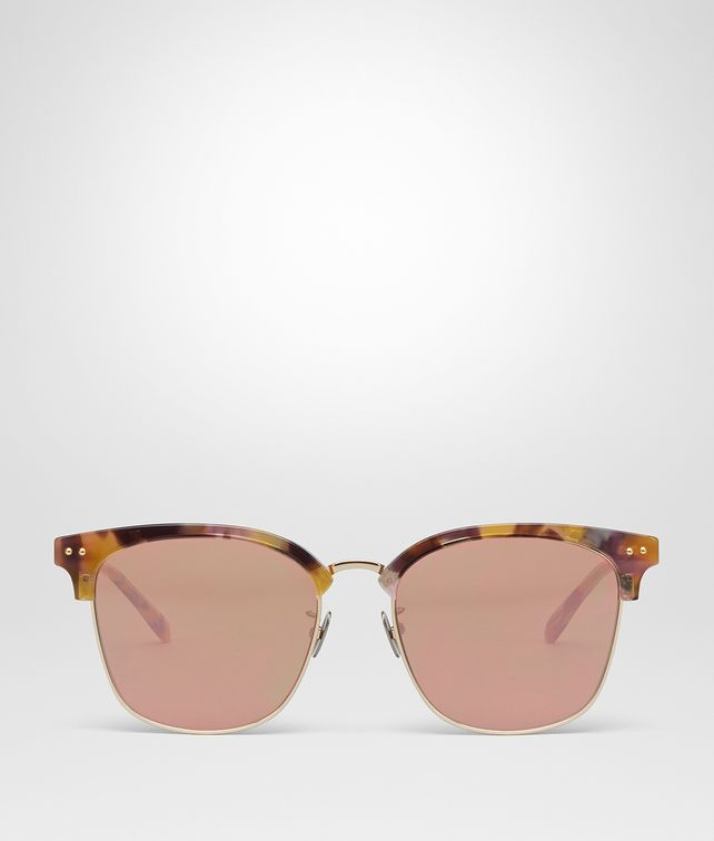 BOTTEGA VENETA MULTICOLOR METAL SUNGLASSES Sunglasses E fp