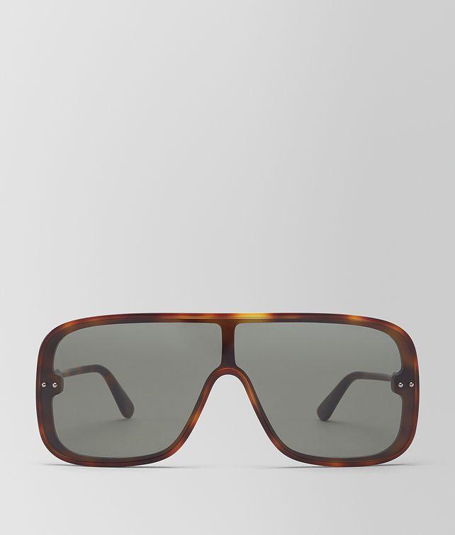 BOTTEGA VENETA AVANA GREEN ACETATE CERVINIA SUNGLASSES Sunglasses [*** pickupInStoreShippingNotGuaranteed_info ***] fp