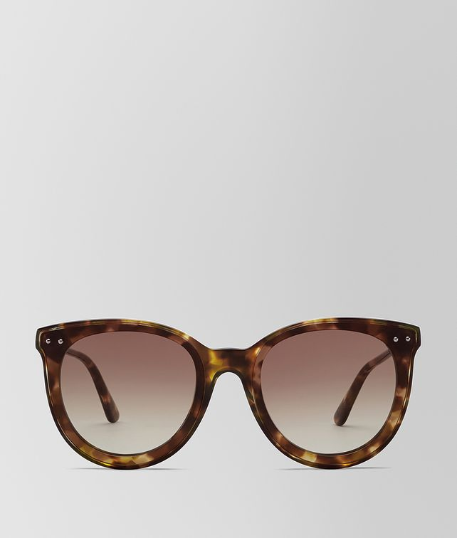 BOTTEGA VENETA AVANA BROWN ACETATE SUNGLASSES Sunglasses Woman fp
