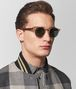 BOTTEGA VENETA BRONZE ALUMINIUM SUNGLASSES Sunglasses Man lp