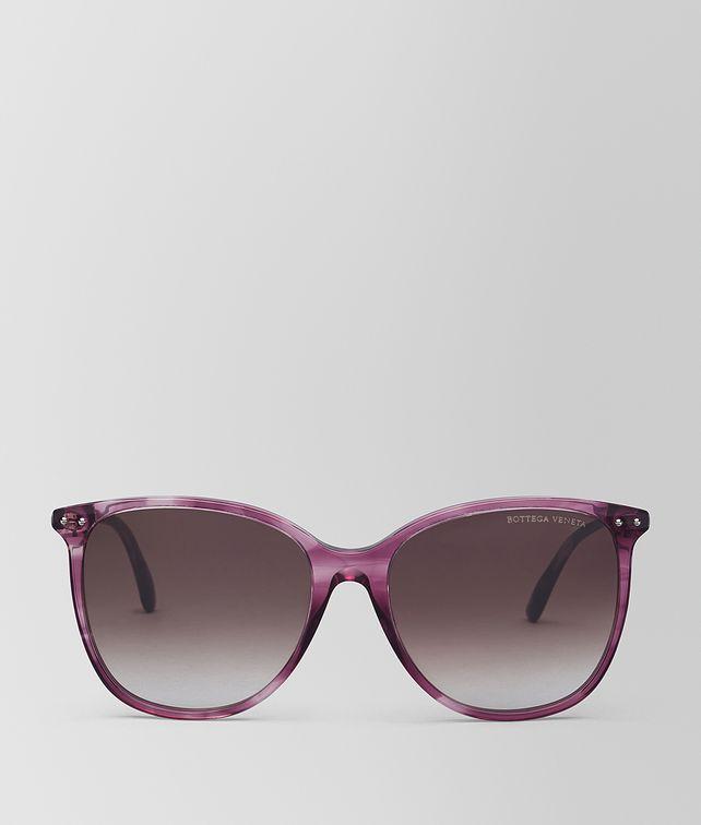 BOTTEGA VENETA VIOLET ACETATE SUNGLASSES Sunglasses [*** pickupInStoreShipping_info ***] fp
