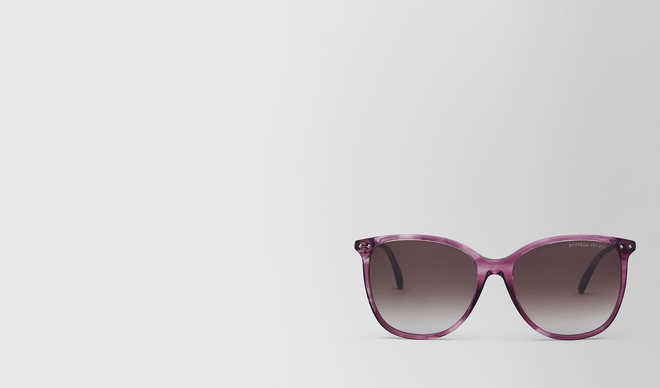 occhiali da sole in acetato violet landing