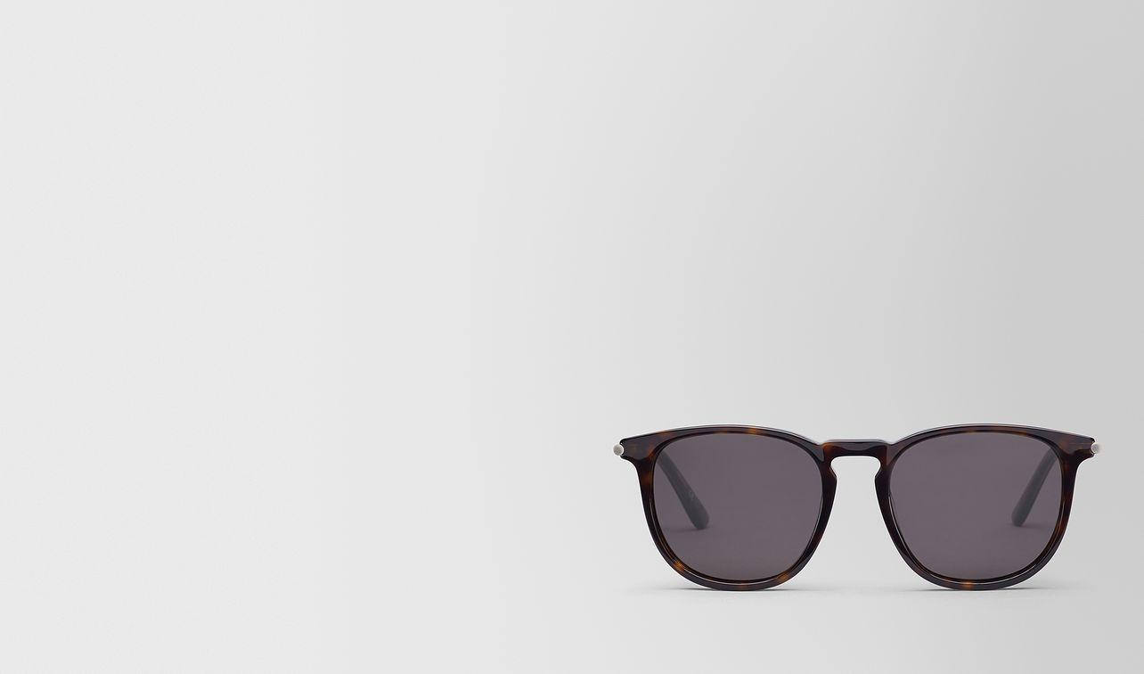 occhiali da sole in acetato nero landing