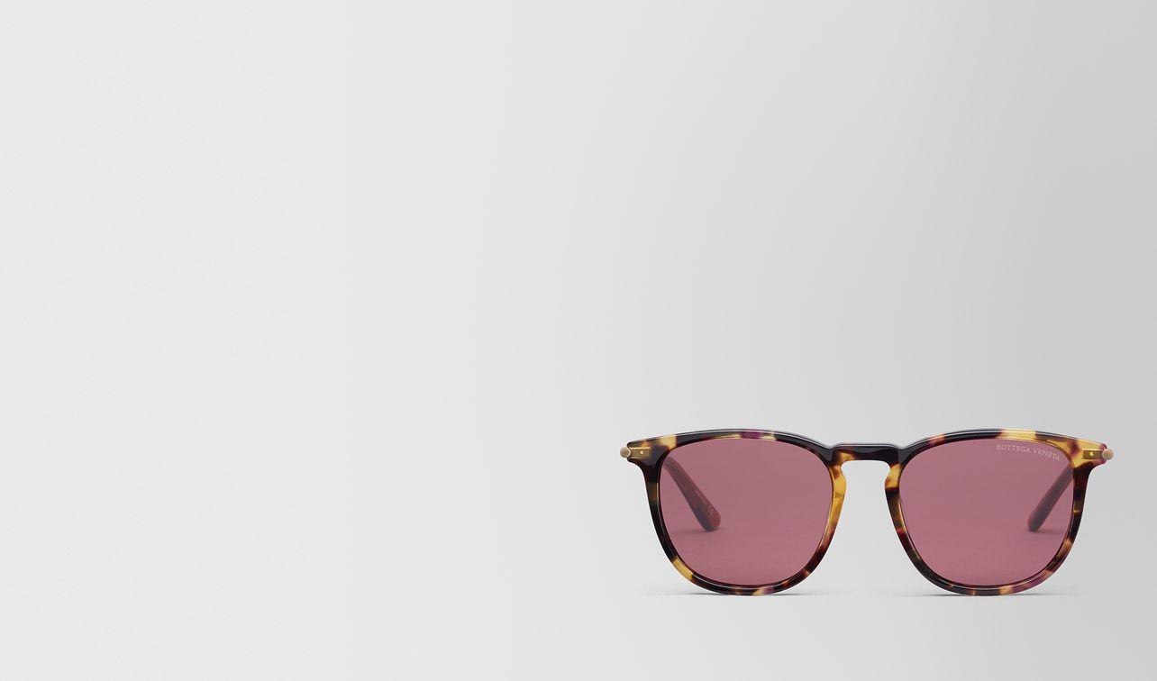 lunettes de soleil en acétate havana landing