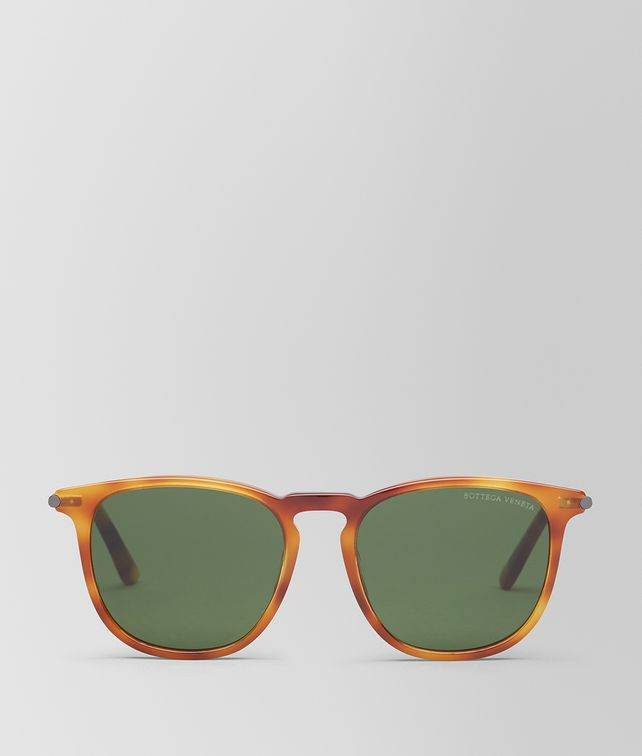 BOTTEGA VENETA HAVANA ACETATE SUNGLASSES Sunglasses E fp