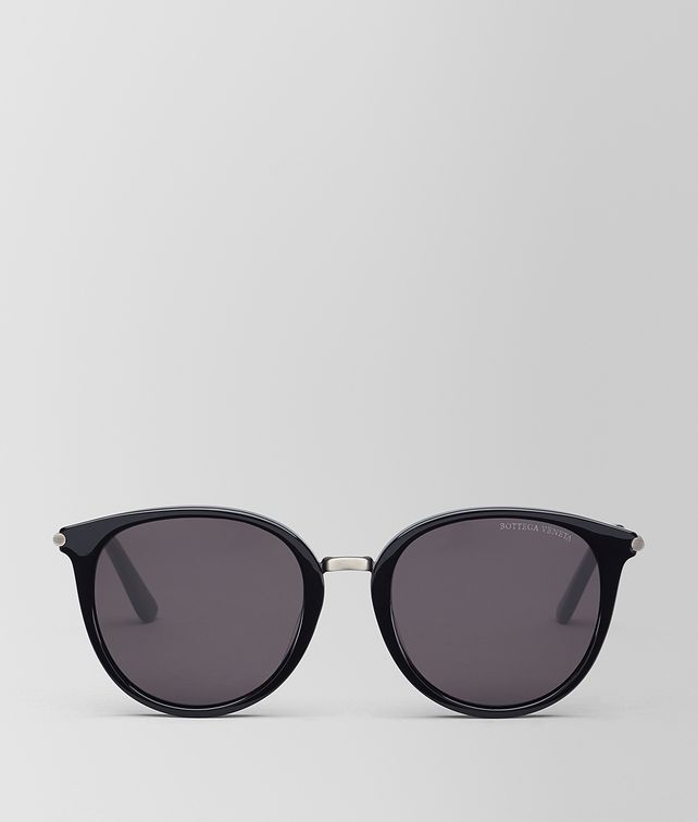 BOTTEGA VENETA NERO ACETATE SUNGLASSES Sunglasses [*** pickupInStoreShipping_info ***] fp