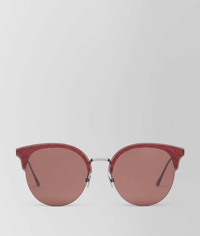 BOTTEGA VENETA RED METAL SUNGLASSES Sunglasses E fp
